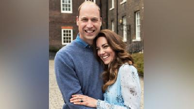Bahasa Tubuh Penuh Cinta Kate Middleton Pangeran William di Anniversary Ke-10