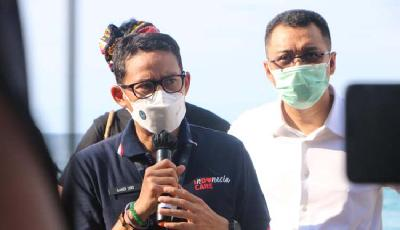 Sandiaga Uno to Ignite Tourism in Covid Green Zone Gili Islands