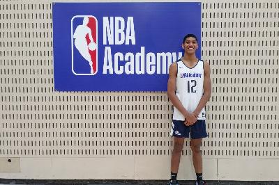 Pemain Basket Indonesia Derrick Michael Xzavierro Ikuti NBA Global Academy