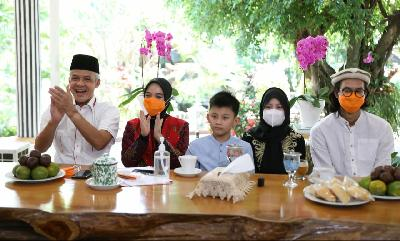 Gubernur Jateng Gelar Open House Virtual