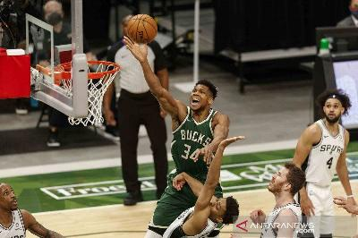 NBA: Milwaukee Bucks Menang atas Indiana Pacers, Denver Nuggets Ungguli Wolves
